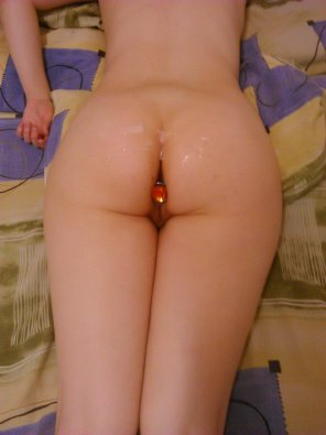 amateur photo [F] Got some new anal toys, thought you might like one of them