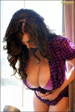 amateur photo Purple plaid