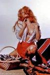 amateur photo Rita & The Red Ripped Skirt - Pamela Green as Rita Landre