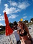 amateur photo Beach cutie