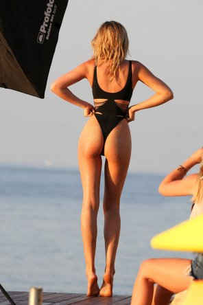 amateur photo Abbey Clancy has legs for days