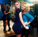 amateur photo Blondes In The Restroom
