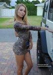 amateur photo skin tight dress