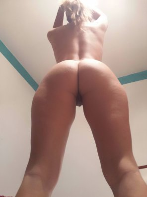 amateur photo I think my ass is asking [f]or some spankings looking like that