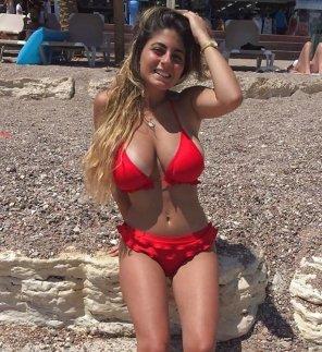 amateur photo That red bikini