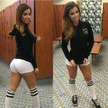 amateur photo White shorts