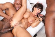 Milf Lisa Ann goes black