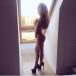 amateur photo 19 year old Sara Reynolds from behind