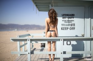 amateur photo Lifeguard station