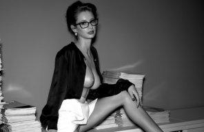 amateur photo hot secretary is hot