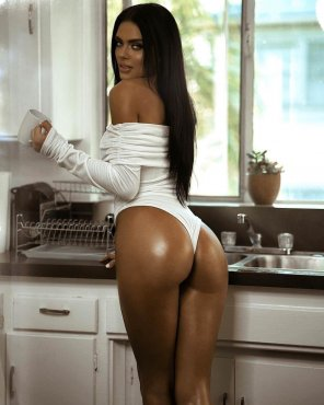 amateur photo In the kitchen