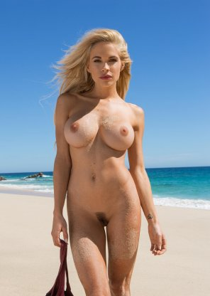 amateur photo Dani Mathers at the Beach