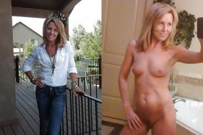 amateur photo Milf can take selfie too, but with style !