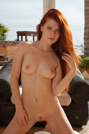 amateur photo Hot Redhead Mia Sollis