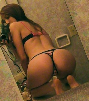 amateur photo Mirror Shot