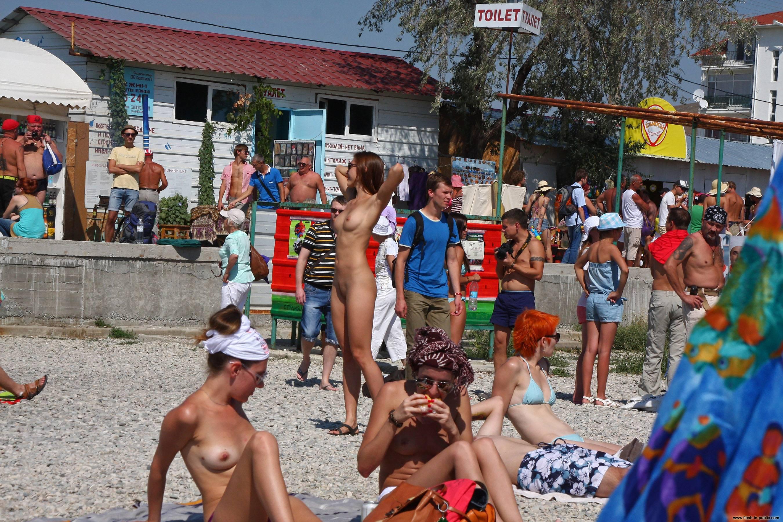 Public Beach Porn