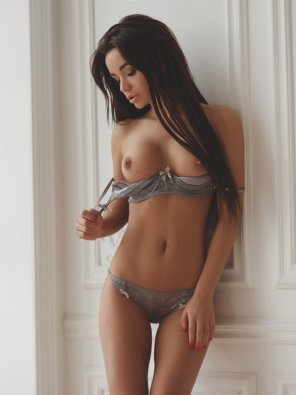 amateur photo Losing the lingerie