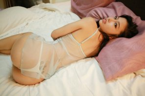amateur photo Beautiful and hot asian woman Luvia