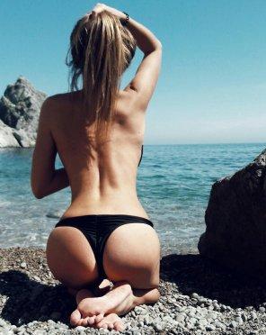 amateur photo Thong Bikini