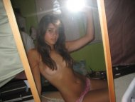Young Amateur Teen Selfshot Private Home Photo