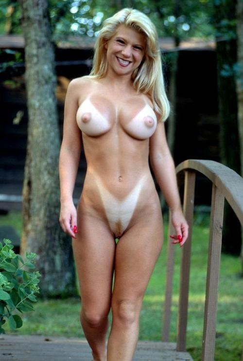 For milf tan lines nude think