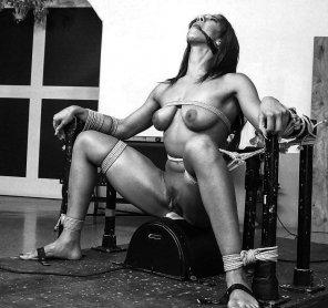 amateur photo When pleasure turns to pain