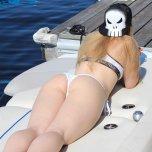amateur photo PictureWhite Girl White Bikini