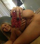 amateur photo Cute blonde showing off