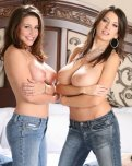 amateur photo Erica Campbell and Jana Defi