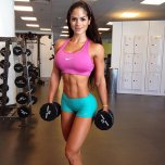 amateur photo Michelle Lewin looking great as usual