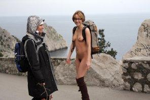 amateur photo nude tourist