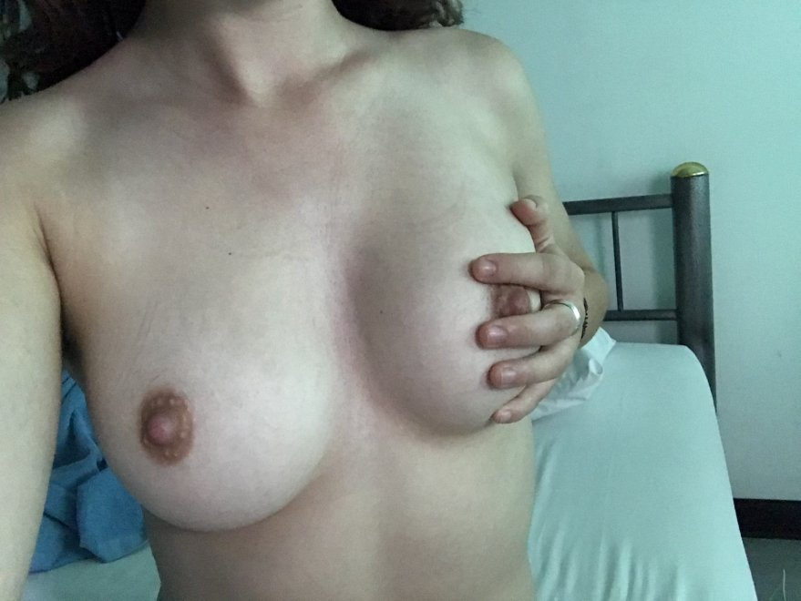 Just a classic boob-in-hand pic Porn Photo