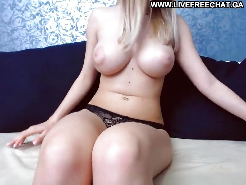 big tit horny blonde amateur