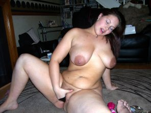 amateur photo She's lovin it