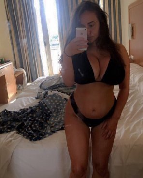 amateur photo Bikini selfie