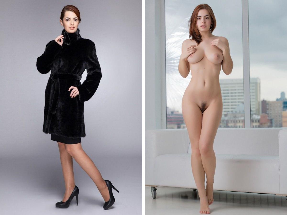 Russian model Lidia Savoderova fashion/nude Porn Pic - EPORNER