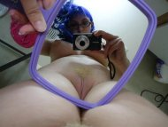 pussy in the mirror