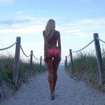 amateur photo Dat path to Baker Beach