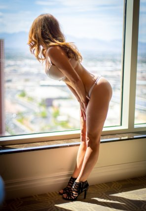 amateur photo Enjoying the view [f]rom the hotel