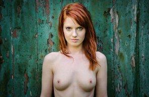 amateur photo Piercing stare