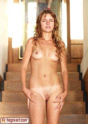 amateur photo Light Bikini Marks Nude