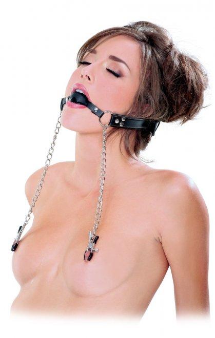 Nipple Clamps Porn Photo