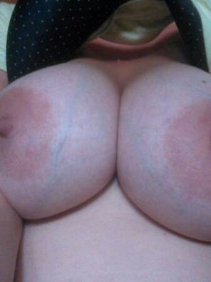 amateur photo Young wife showing off...
