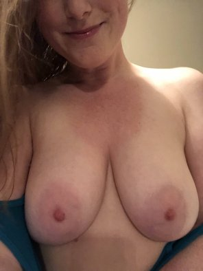 amateur photo I missed Ginger Titty Tuesday this week... so here are my tits [f]