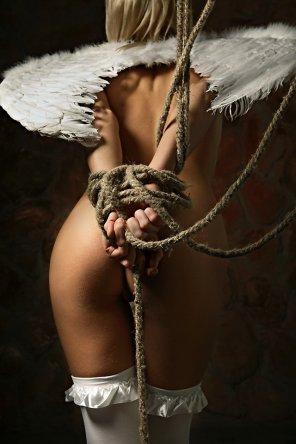 amateur photo Bound Angel