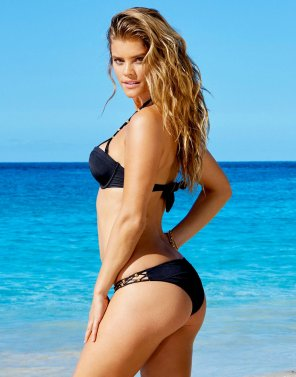 amateur photo Nina Agdal in a black bikini