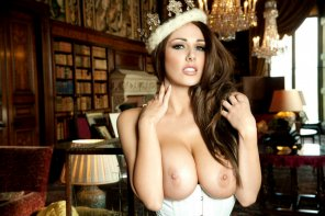 amateur photo Lucy Pinder - Deserving of the Crown