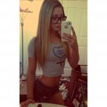 amateur photo Glasses and a Tight Body