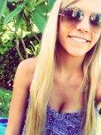 amateur photo Summer selfie