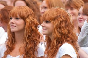 amateur photo Ginger Twins